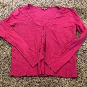 Merona pink cardigan
